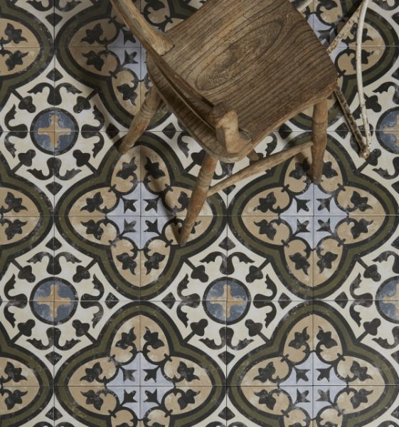 Moroccan impressions carthusian porcelain artisans of Moroccan ceramic floor tile