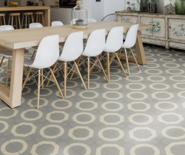 How to create impact with encaustic floor tiles