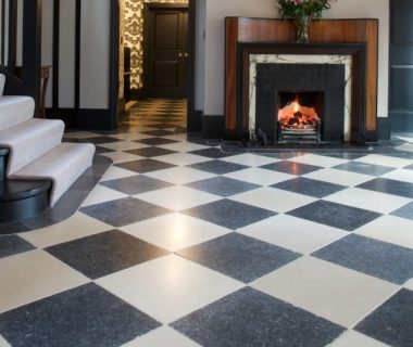 Choose a floor tile to suit the property