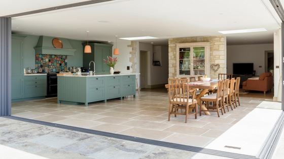 Stone flooring for interiors and exteriors