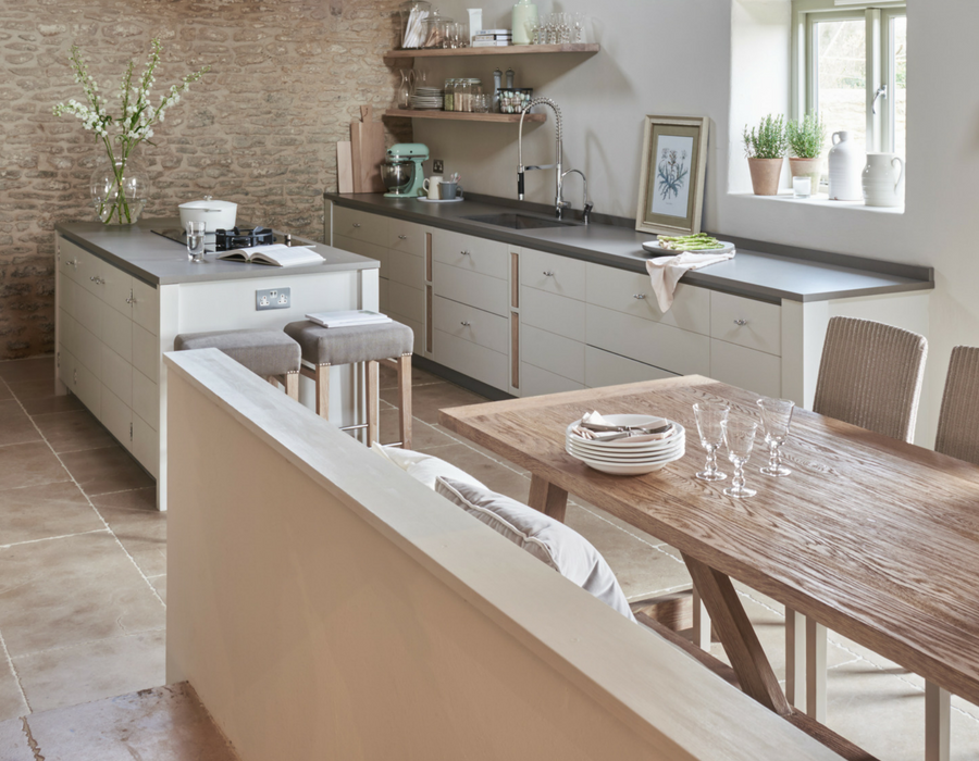 White Hart Studio Sims Hilditch open plan kitchen and dining space