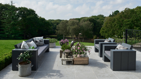 Outdoor furniture worthy of bringing the indoors outdoors