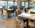 Open plan restaurant at the Boars Head