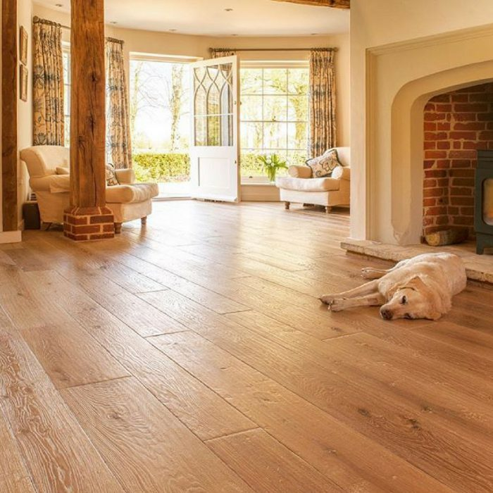 Charles Lowe & Sons timber flooring in living space